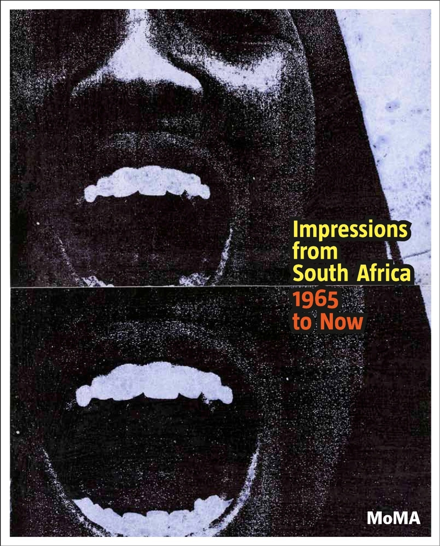 Cover of the exhibition catalogue Impressions from South Africa, 1965 to Now image
