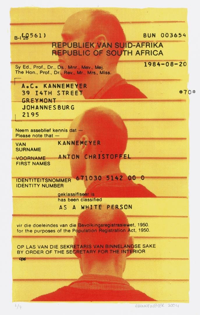 A White Person. 2004 image