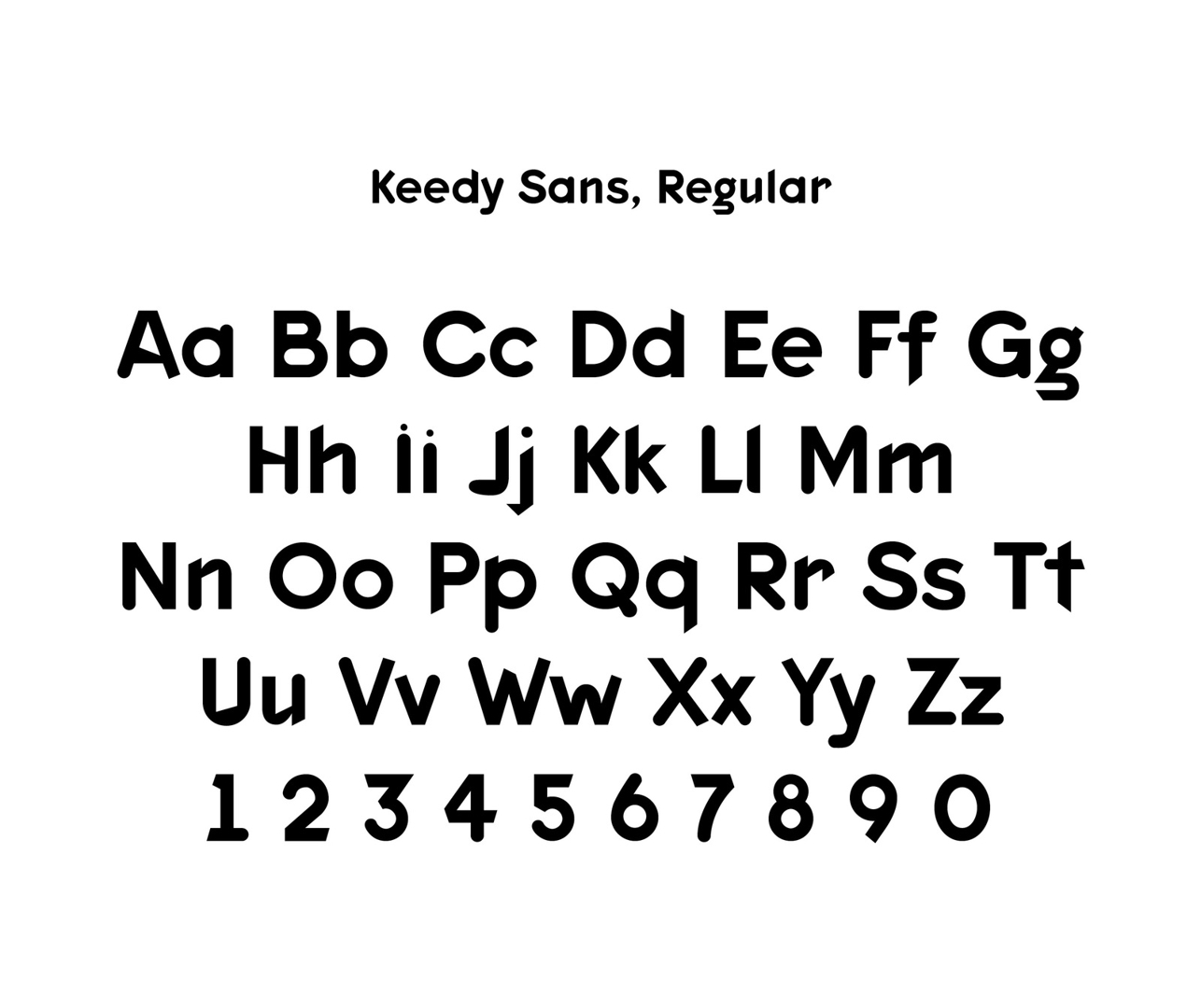 Keedy Sans 1991 image