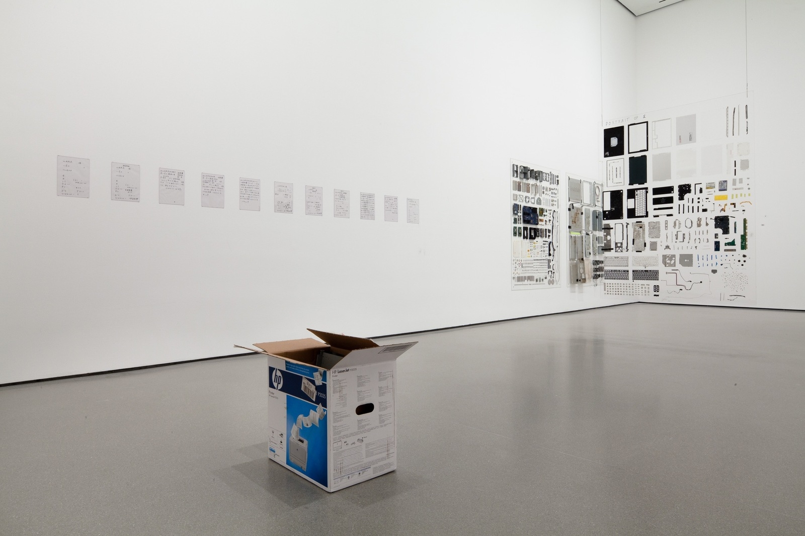 Installation view of Projects 94: Henrik Olesen. The Museum of Modern Art, NY image