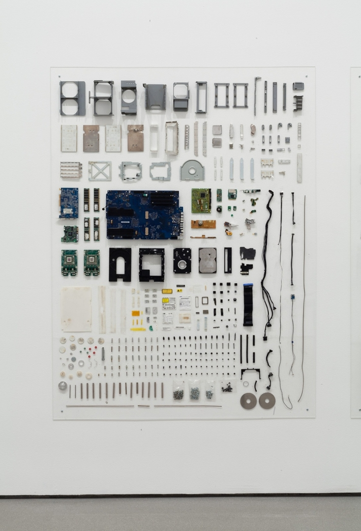 Detail of the installation Projects 94: Henrik Olesen. The Museum of Modern Art, NY image