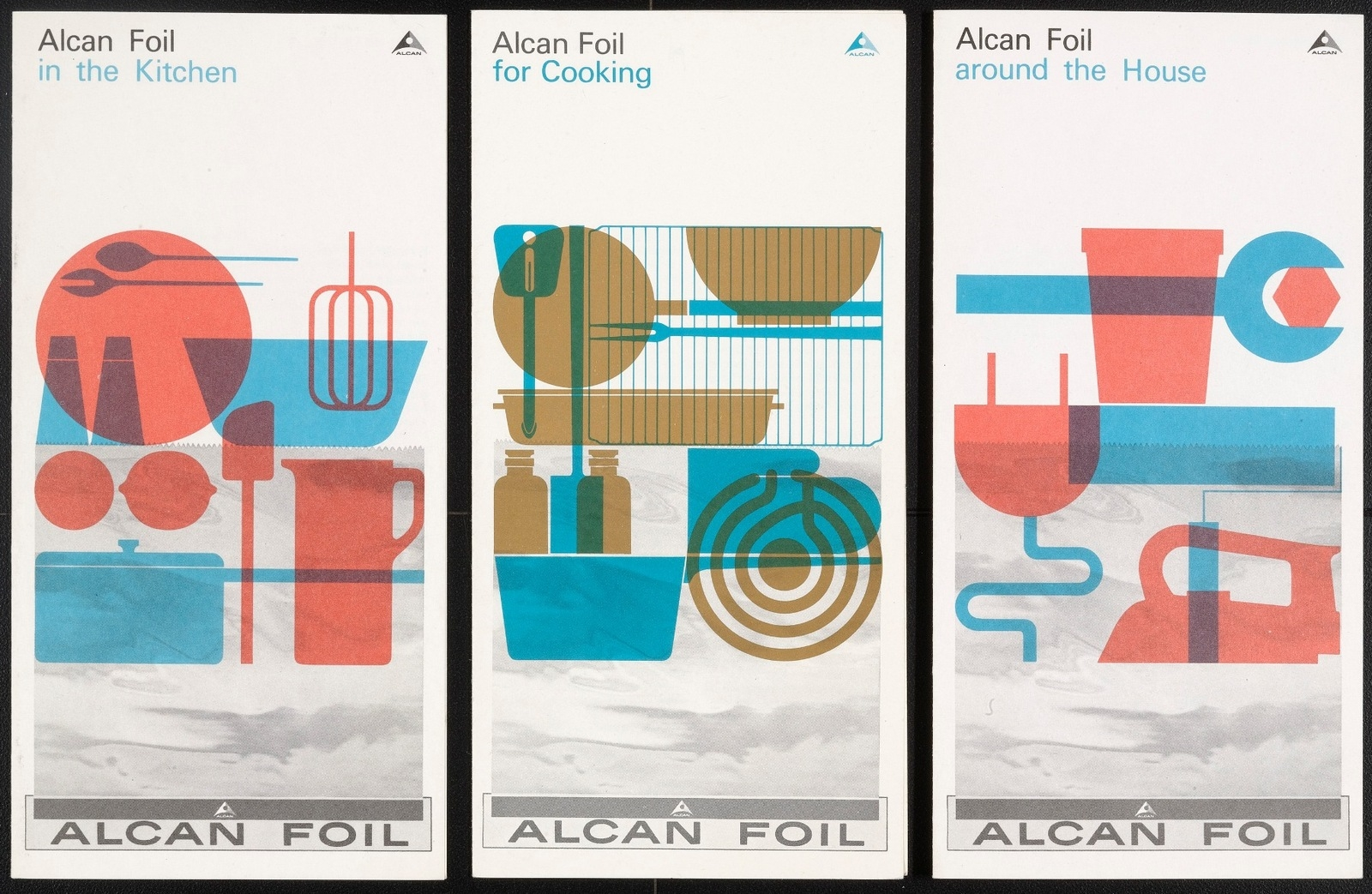 Alcan Foil Brochures for the Aluminum Company of Canada. c.1960-62 image