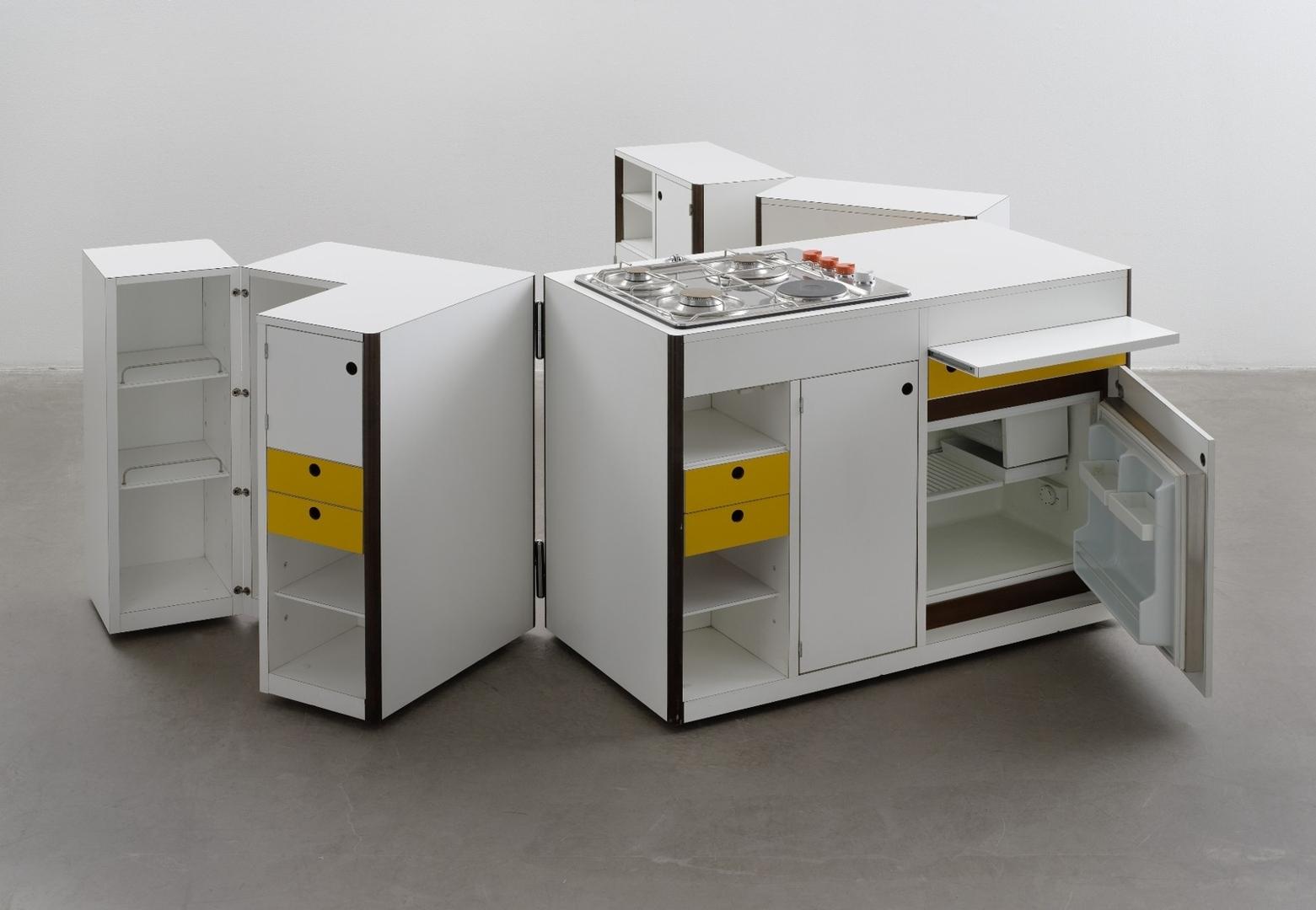 Spazio Vivo (Living Space) Mobile Kitchen Unit. 1968 image