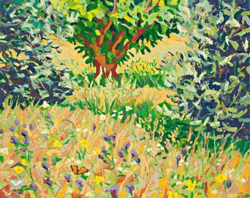 Butterflies in the landscape image