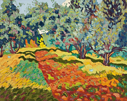 Olive grove (autumn) image
