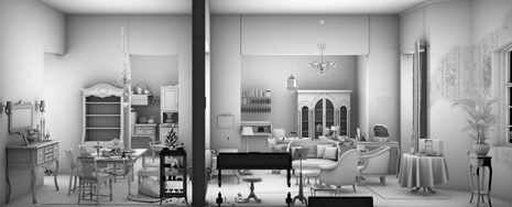Detail of Living Room, 2009 image