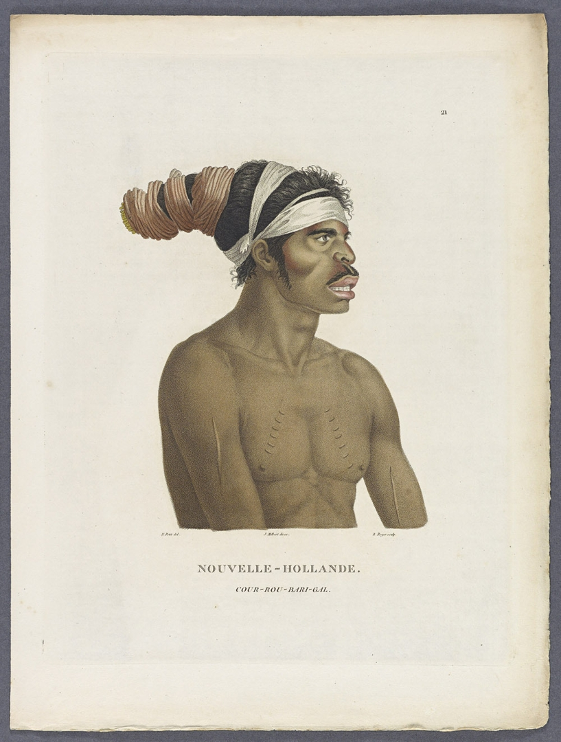 (Borogegal man), a native of the environs of Port Jackson image