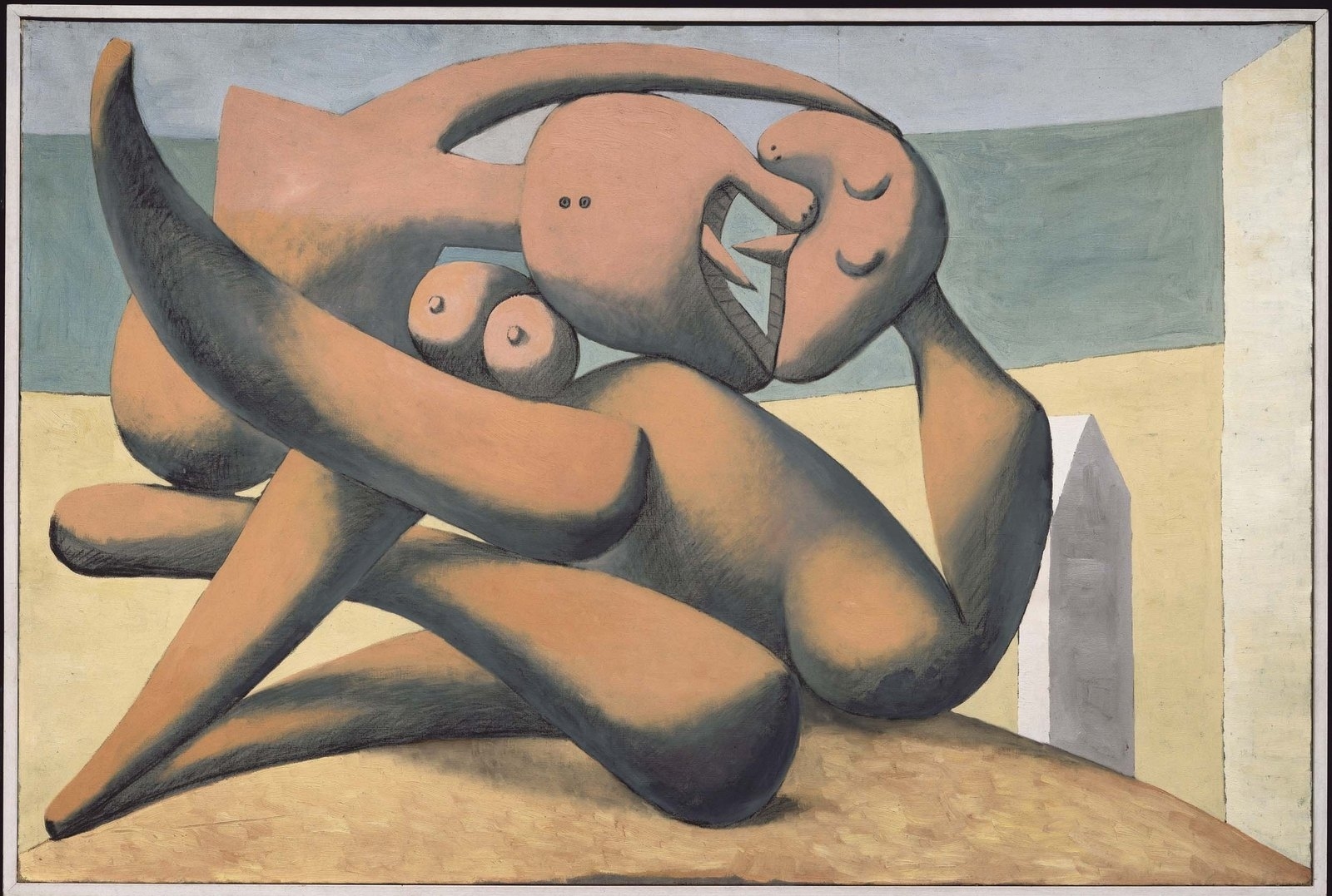 Figures at the seashore 1931 image