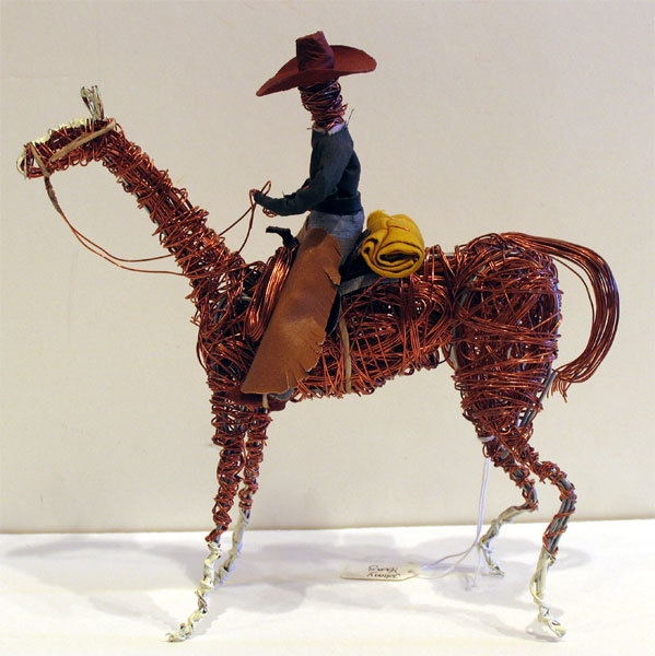 Johnny Young Horse Rider - Brown Hat, Green Jumper 2006 image