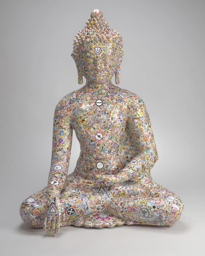 Excuse Me While I Kiss the Sky (Seated Buddha) image