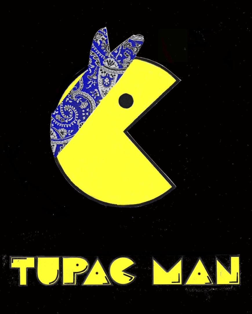Tupac Man Blue image
