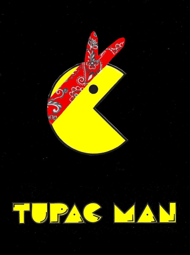 Tupac Man Red image