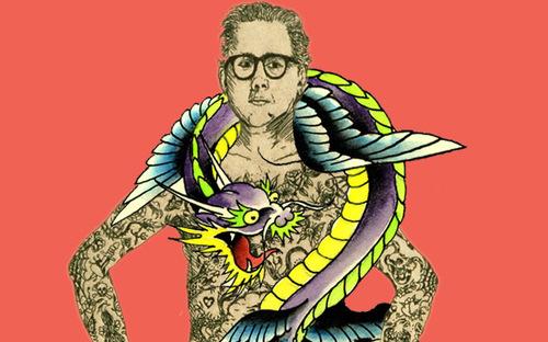 Ed Hardy Tattoo the World image