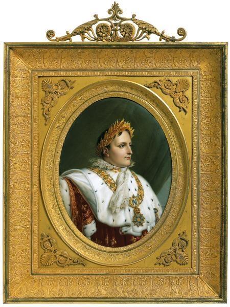 Napoleon in coronation robes 1813-14 image