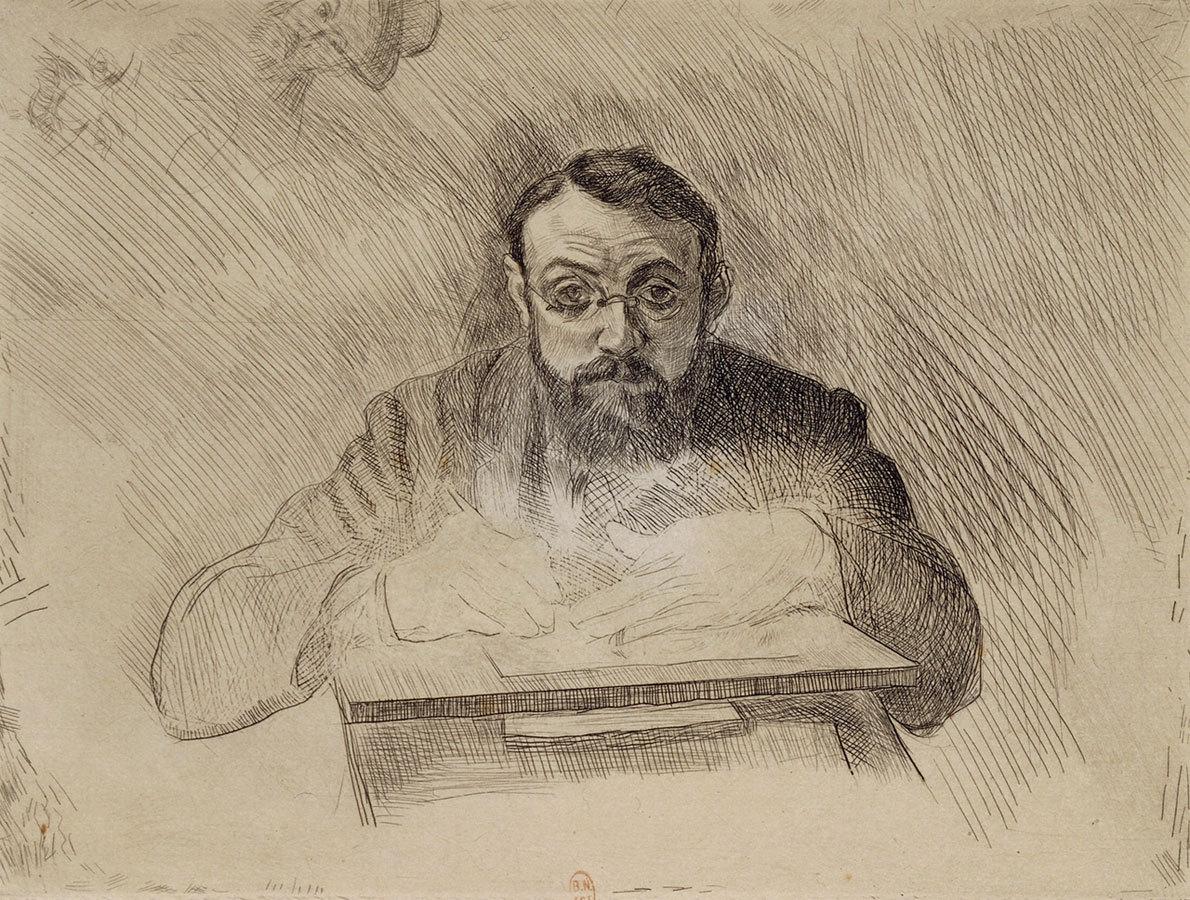 Henri Matisse gravant 1900 image