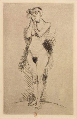 La Pleureuse 1900/1903 image