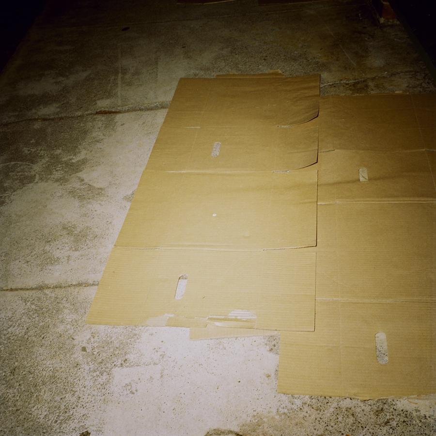 Mattress for a Homeless Man image