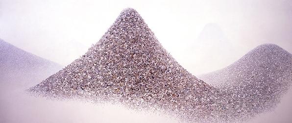 Ash Color Mountains image