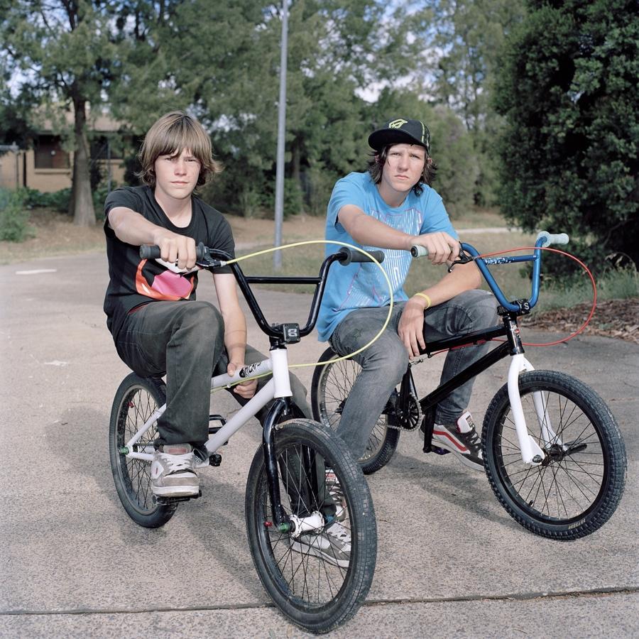 Nathan and Mac, BMX bros image