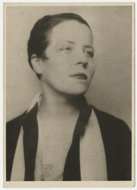 Djuna Barnes, portrait, circa image