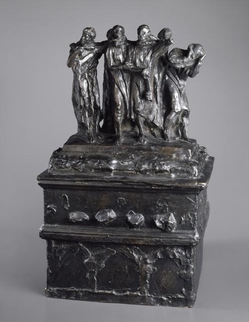 Monument to the Burghers of Calais, First Maquette (Monument des Bourgeois de Calais, première maquette), November 1884; cast circa 1967 image