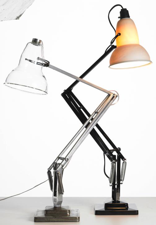 Ceramics Anglepoise (2011) and LED Glass Anglepoise (2010) image