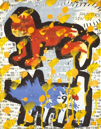 Flyer for Des Refusés at Westbeth Painters Space, New York City image
