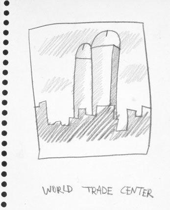 Manhattan Penis Drawings for Ken Hicks image