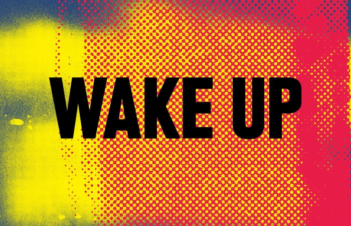 Wake up and wait for the sun to rise… image