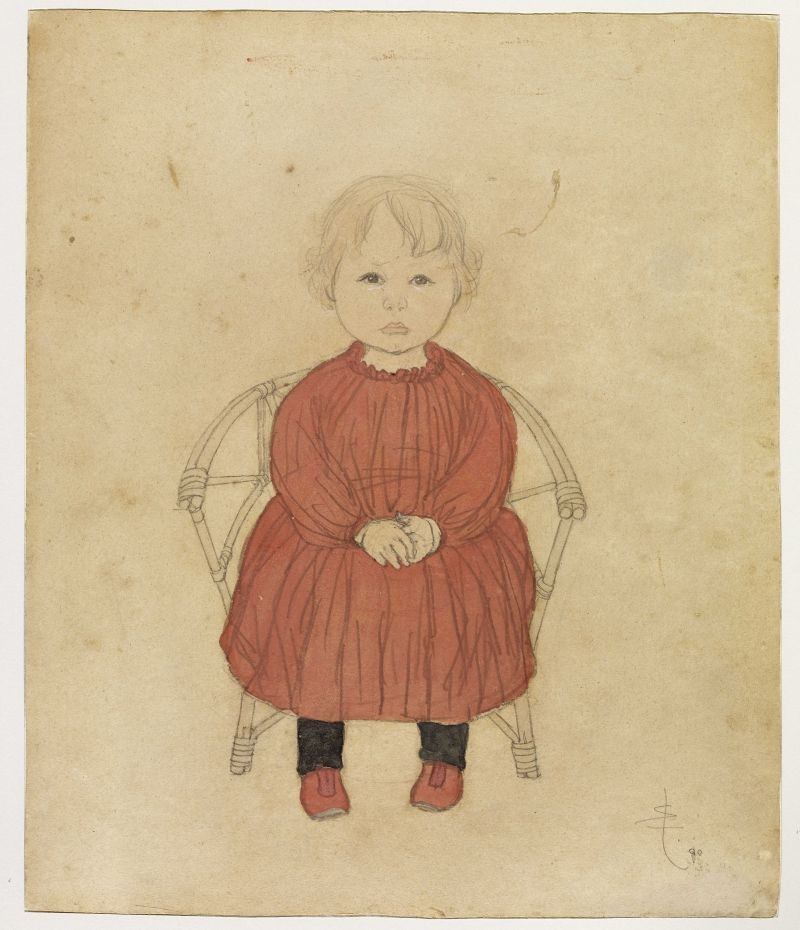 Colette seated image