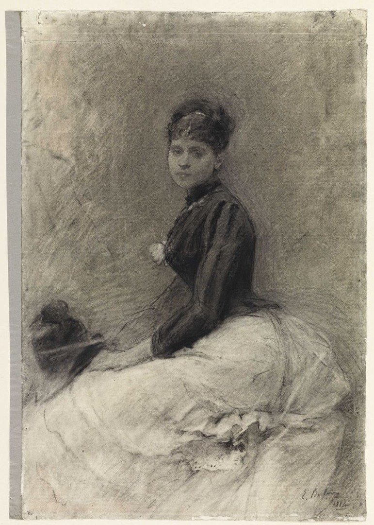 Portrait of a seated woman image