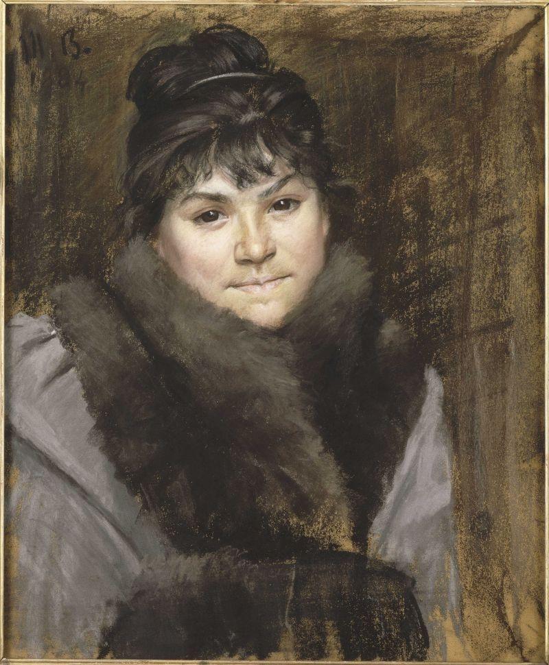 Portrait of Mme X image