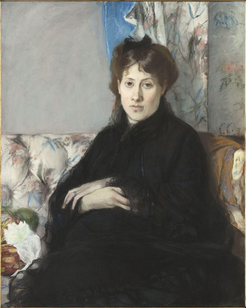 Portrait of Mme. Edma Pontillon, née Morisot, the artist's sister image