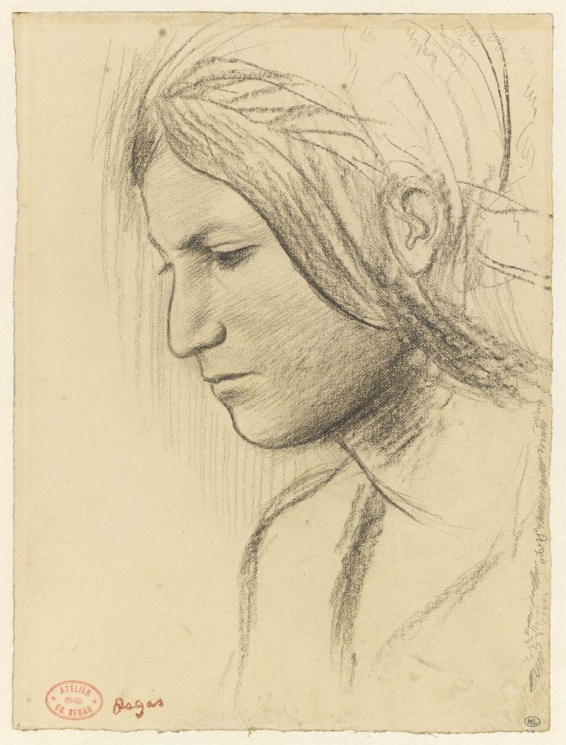 Profile of a woman image