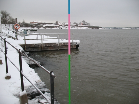 Geoff Robinson:  At the junction of twelve locations on Suomenlinna, Helsinki, Finland, November 2011 to February 2012  image