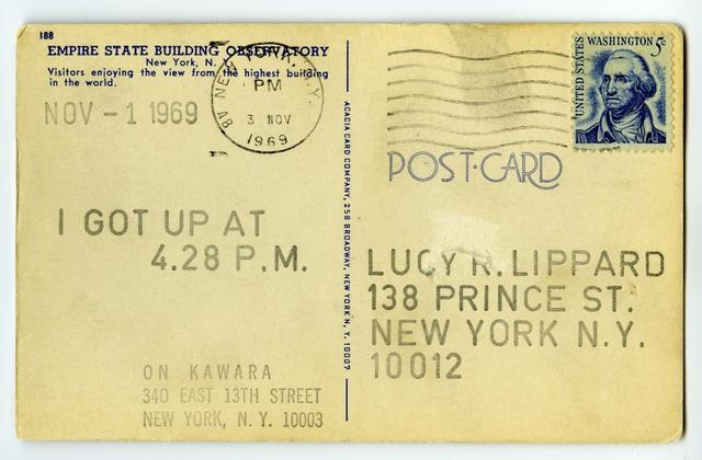 I Got Up, November 1, 1969 image