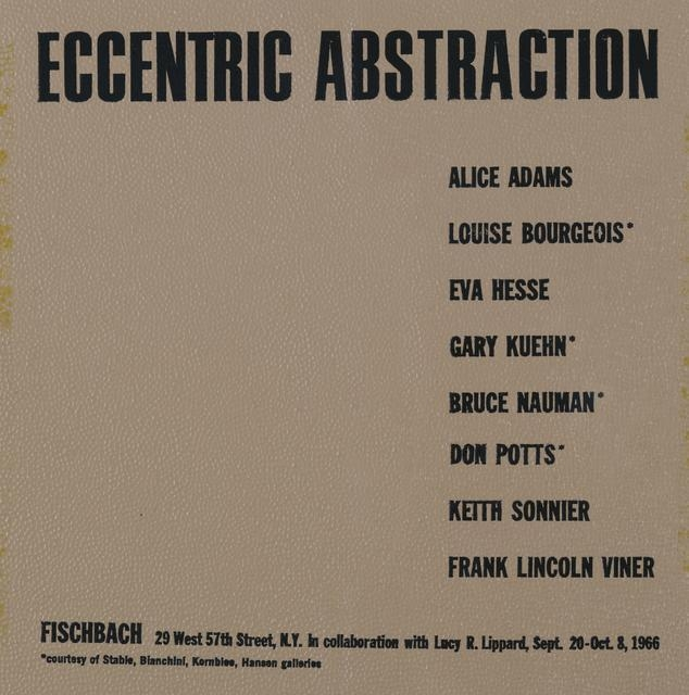 Announcement card for Eccentric Abstraction image