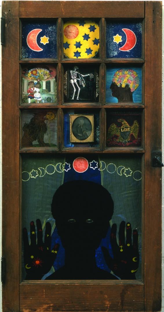 Black Girl's Window image