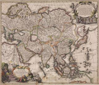 Asiae Recentissima Delineatio c.1716 image