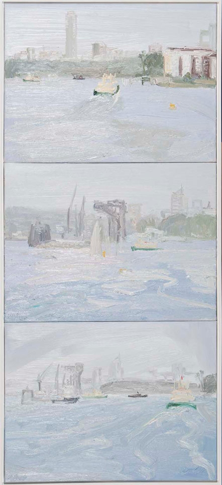 Painting The Harbour From Kurraba (Wharf) image