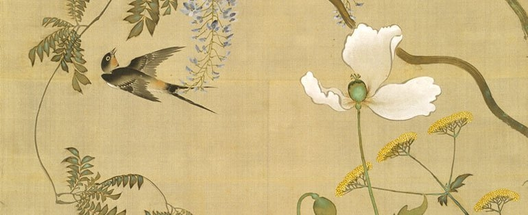Birds and flowers of the four seasons, c1855 image