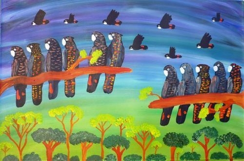 EXPLORING COLOUR: The use of Colour in Indigenous Art image