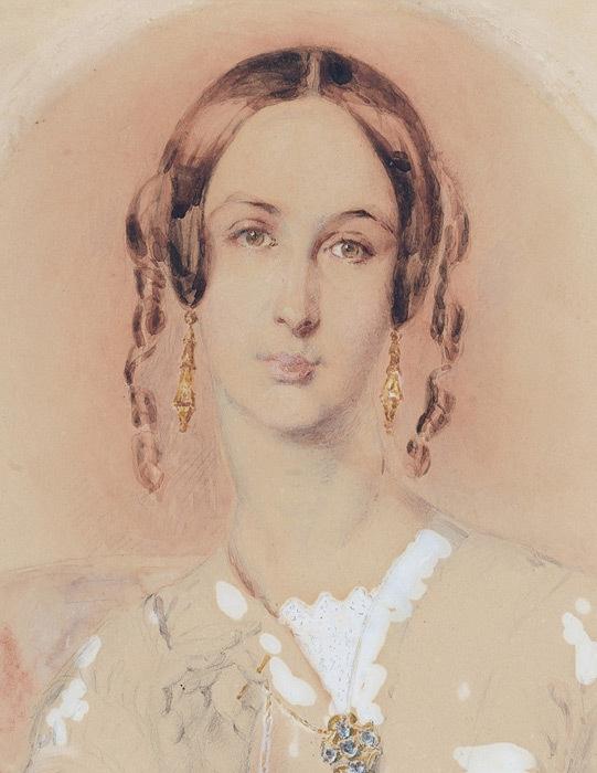 Martha Sarah Butler c. 1845 image