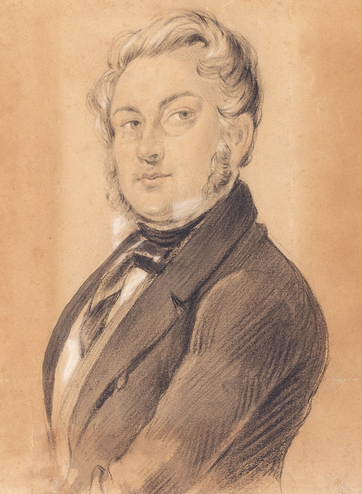 Self portrait c. 1849 image