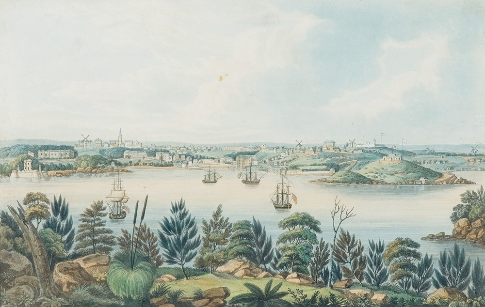 North view of Sidney, New South Wales 1825 image