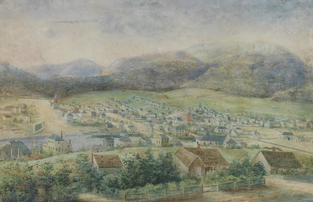 Hobart Town 1840 image