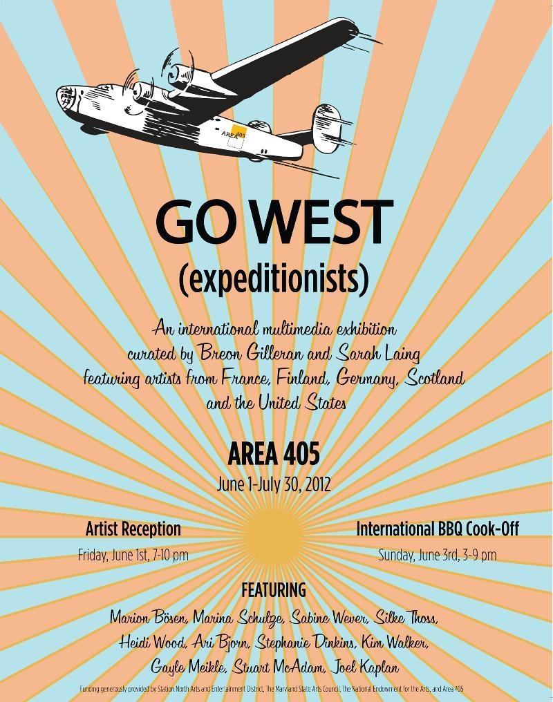 Go West (Expeditionists) @ Area 405, Baltimore image