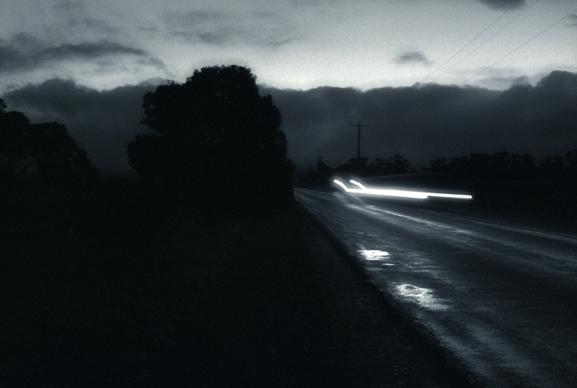 Untitled (car lights) image