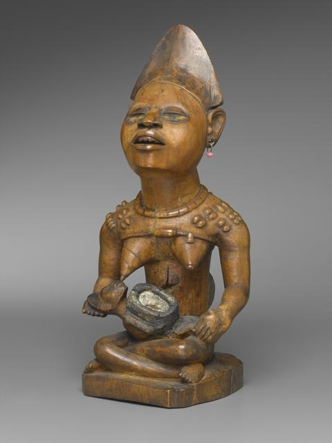 Figure of Mother and Child (Phemba) image