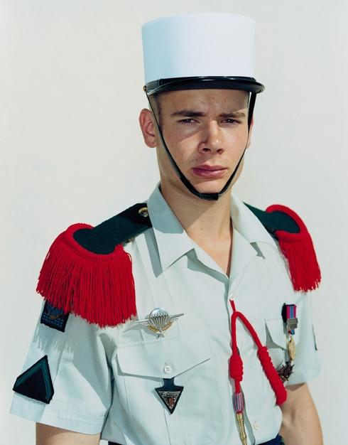Olivier, The French Foreign Legion, Camp Raffalli, Calvi, Corsica, June 18, 2001 image